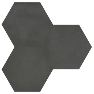 Form Graphite Porcelain Hexagon