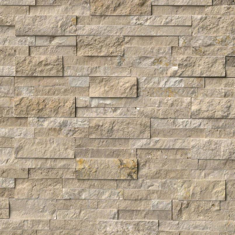 Durango Cream Splitface Panel 6x24 Ledger