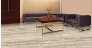 Travertino Beige Vein large format porcelain tile