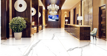 Load image into Gallery viewer, Classico Statuario  marble large format porcelain tile
