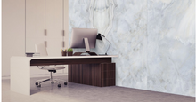 Load image into Gallery viewer, Agate Azul blue large format porcelain tile
