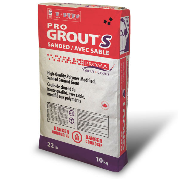 Proma Pro Grout Sanded (Pick up or local delivery only)