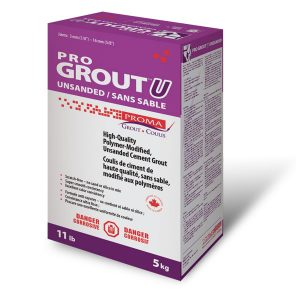 Proma Pro Grout Unsanded (Pick up or local delivery only)