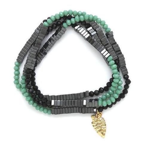 Lila Babe Regular - Black & Jade