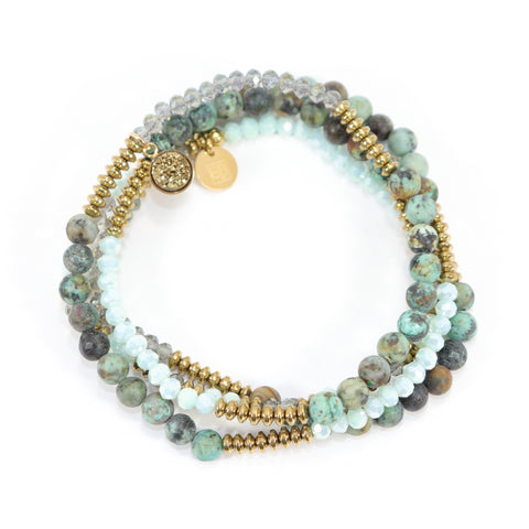 Lila Babe Agate - Playful Peace