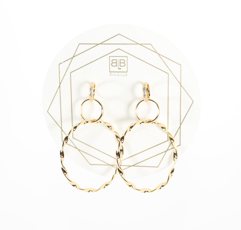 Triple Dip Earrings