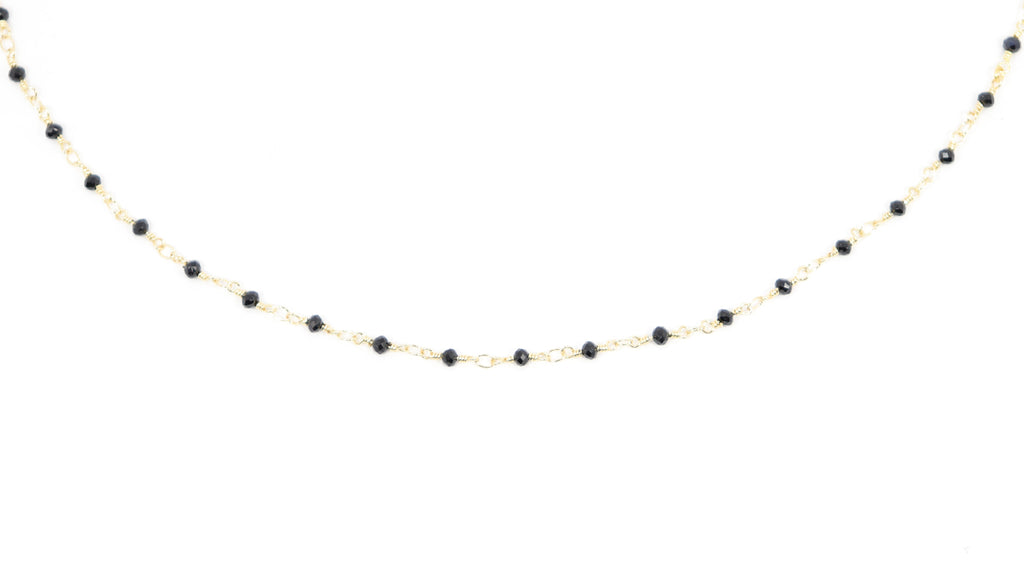 Beaded Choker - Black