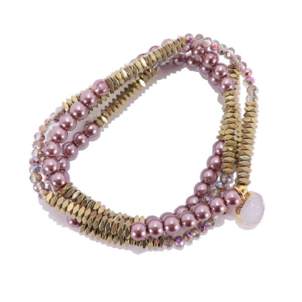 Lila Babe Agate - Pretty In Pink