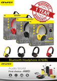 AWEI A760BL Wireless Stereo Headphone