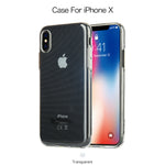 Le Timbre Clear Jelly Series TPU Case for iPhone