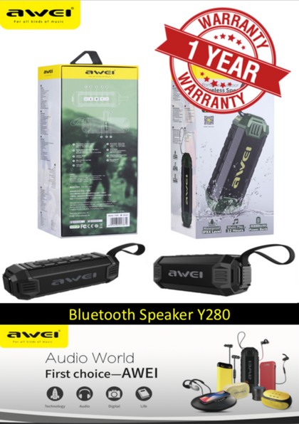 AWEI Y280 Portable Outdoor Wireless Speaker
