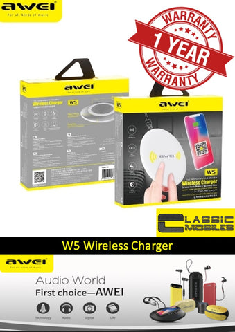 Awei W5 Wireless Charger