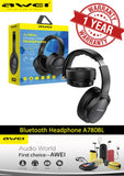 AWEI A780BL Bluetooth 5.0 Earphone Wireless Headphone with Microphone Deep Bass