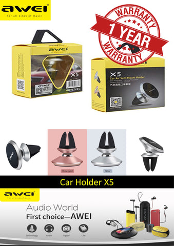 AWEI X5 Car Air Vent Mount Car Holder
