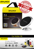 AWEI X6 Dashboard Mount Magnetic Car Holder