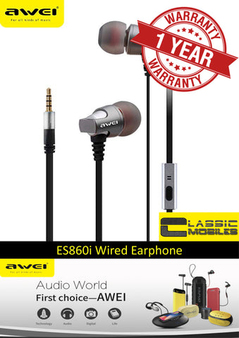AWEI ES860i Super Bass In-Ear Wired Earphone
