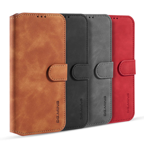 CaseMe Ming DG001 Magnetic Flip Wallet Phone Case for iPhone