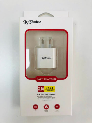 Le Timbre Fast Charger 2.1A 5V (Charger Only)