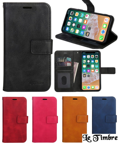 iPhone Le Timbre Classic Diary Flip Case