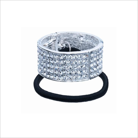 PC01 - Rhinestone Ponytail Cuff