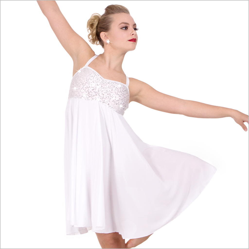 Cheap white lyrical dresses