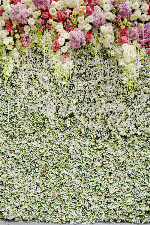Flowers Vinyl Photography Backdrop