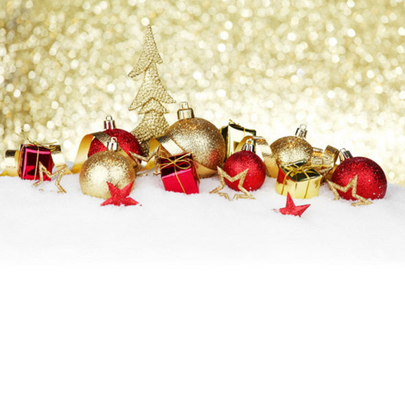 Christmas Vinyl Photography Backdrop