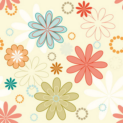 1507 Simple & Bright Floral