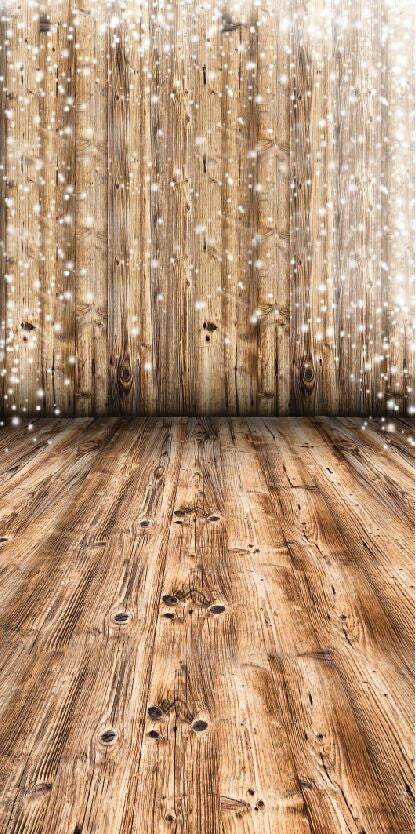 Bokeh Wood & Wood Floor