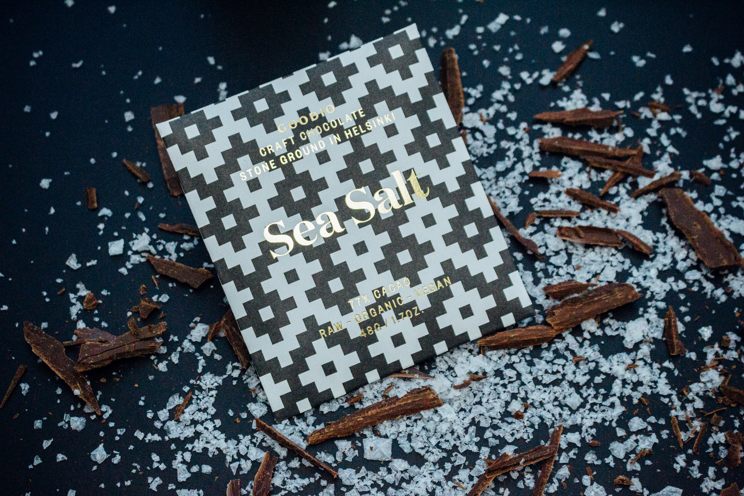 Organic & Vegan Sea Salt Chocolate 77%