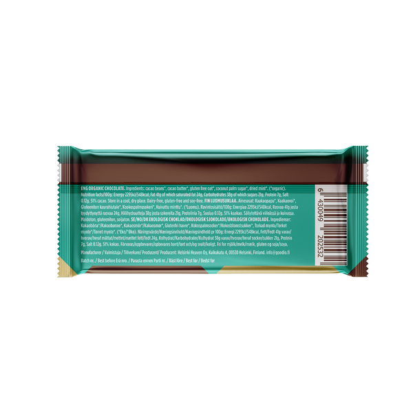 10-pack: ChocOat Cool Mint Chocolate