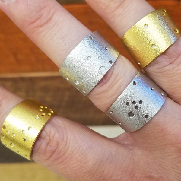 constellation rings at stumble and relish