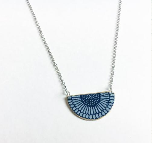 niceLena Sunflower After Dark Necklace at Stumble and Relish