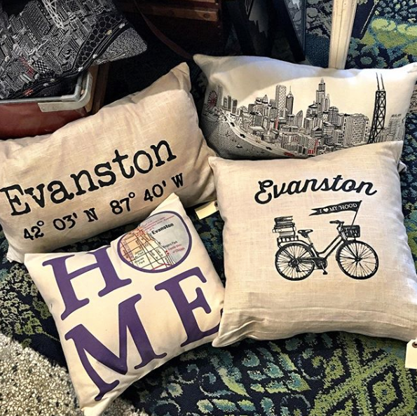 Evanston & Chicago Pillows