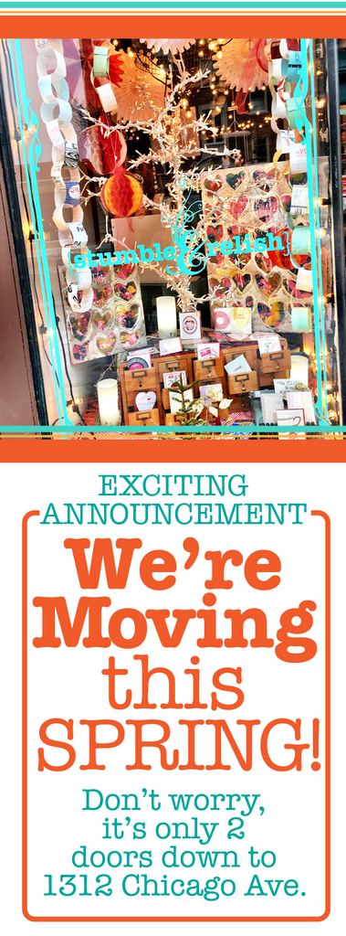 Stumble & Relish is Moving!