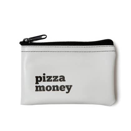 Pizza Money Zip Pouch