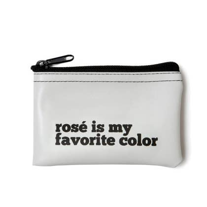 Rosé Is My Favorite Color Zip Pouch