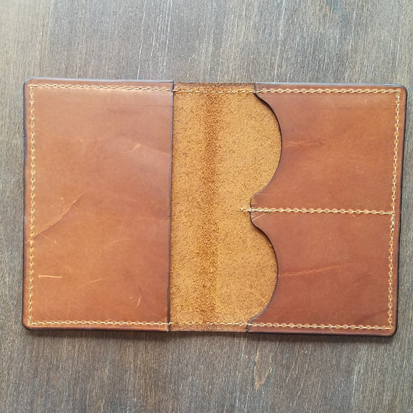 Handmade Chicago Passport Wallet