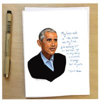 Barack Obama Quote Card
