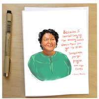 Stacey Abrams Quote Card