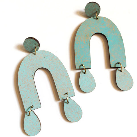 Chrissy Wood Earrings