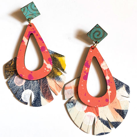 Kayla Wood Earrings