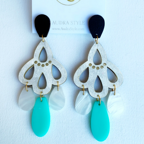 Lucille Statement Earrings