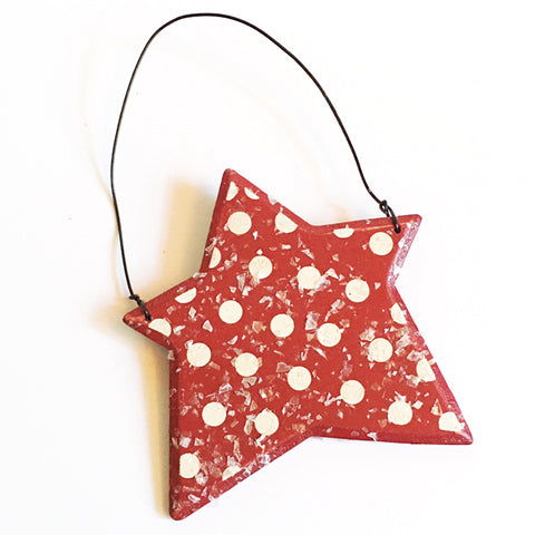 ***SALE*** Wood Star Ornament