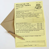 Application for Expecting Parents Card