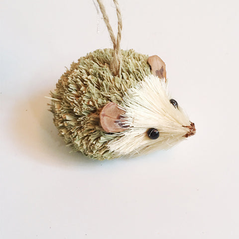 ***SALE*** Cute Green Hedgehog Ornament