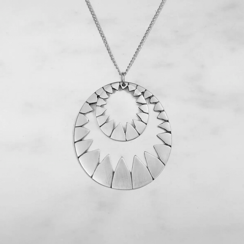 Stella Sterling Silver Necklace