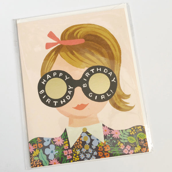 Meadow Birthday Girl Birthday Card