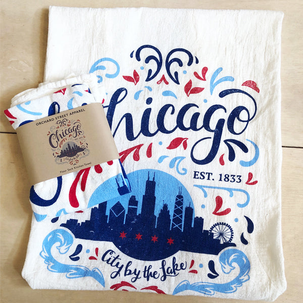 Chicago Tea Towel