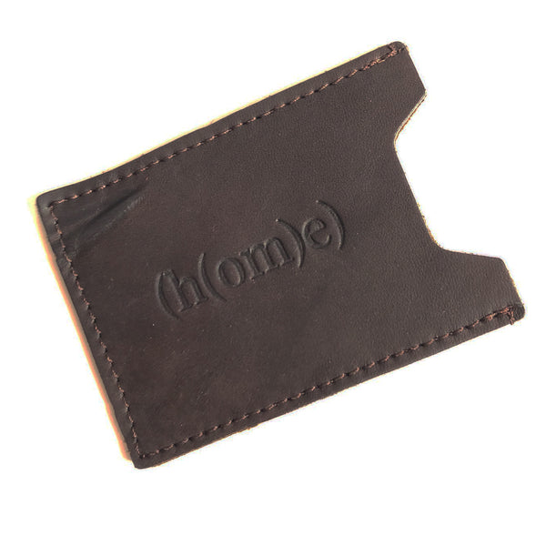 Leather Sleeve Credit Card Wallet B